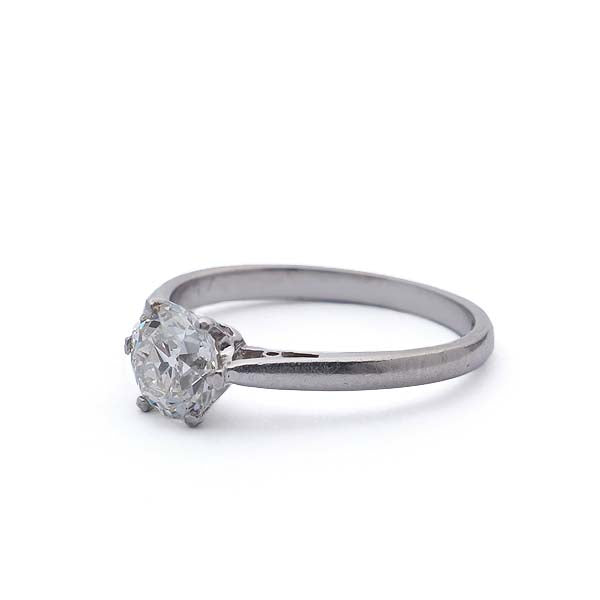 Edwardian Engagement Ring #VR180917-2 - Leigh Jay & Co.
