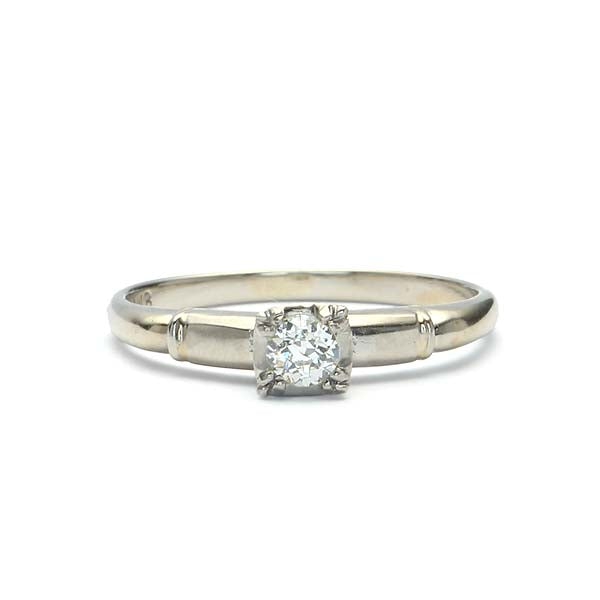 Circa 1940sEngagement Ring #VR180920-5 - Leigh Jay & Co.