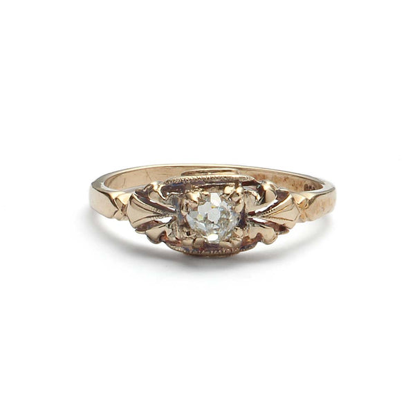 Early Art Deco Engagement Ring #VR180920-6 - Leigh Jay & Co.