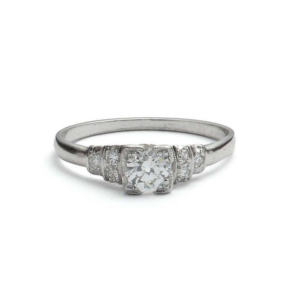 Circa 1930s Engagement Ring #VR180920-7 - Leigh Jay & Co.