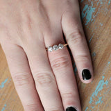 Early 20th Century Three Stone Ring #VR180920-8