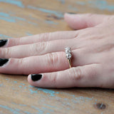 Early 20th Century Three Stone Ring #VR180920-8 - Leigh Jay & Co.