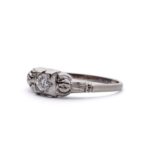Circa 1930s Engagement Ring #VR180921-1 - Leigh Jay & Co.
