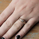 Victorian Engagement Ring #VR180921-2 - Leigh Jay & Co.