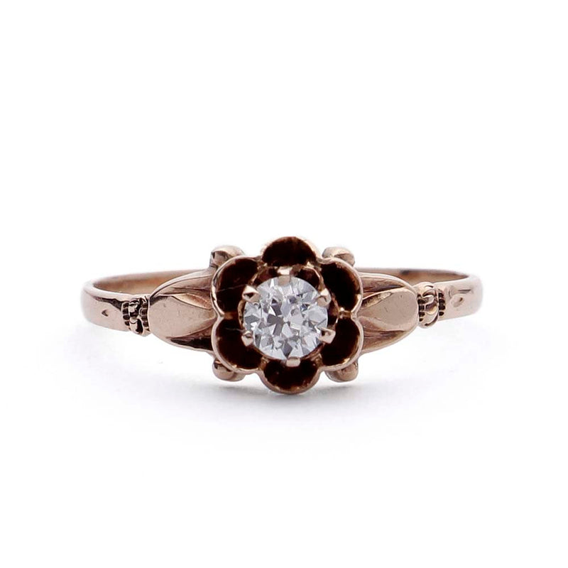 Victorian Engagement Ring #VR180921-3