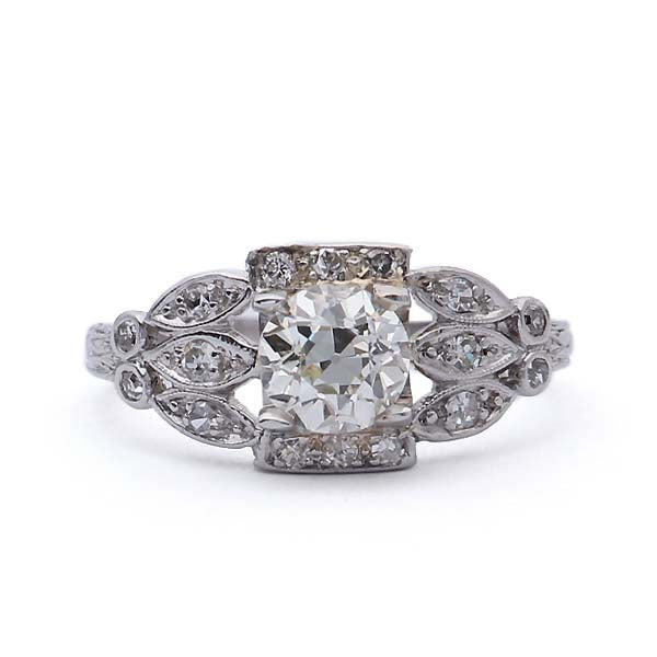Art Deco Engagement Ring #VR180927-1 - Leigh Jay & Co.