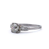 Art Deco Engagement Ring #VR181106-2 - Leigh Jay & Co.