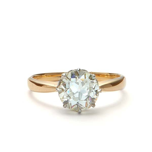 Edwardian Engagement Ring #VR181121-1 - Leigh Jay & Co.