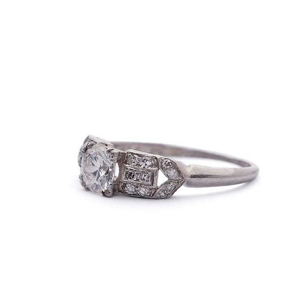 Circa 1930s Engagement Ring #VR181121-3 - Leigh Jay & Co.