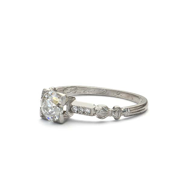 Circa 1930s Engagement Ring #VR181121-4 - Leigh Jay & Co.