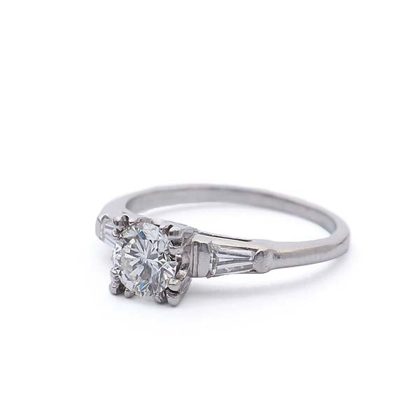 Circa 1940's Engagement Ring #VR181217-2 - Leigh Jay & Co.