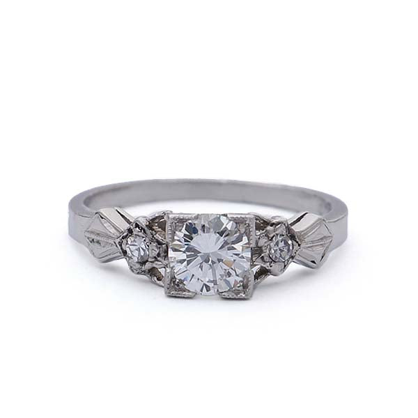 Circa 1930s Engagement Ring #VR190201-1 - Leigh Jay & Co.