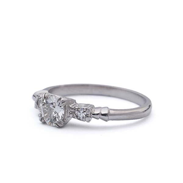 Circa 1930s Engagement Ring #VR190201-2 - Leigh Jay & Co.