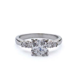 Circa 1940s Engagement Ring #VR190208-1 - Leigh Jay & Co.