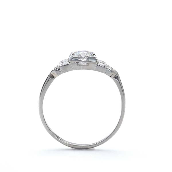 Circa 1930s Engagement ring #VR190214-1 - Leigh Jay & Co.