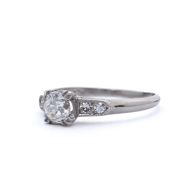 Circa 1930s Engagement ring #VR190214-2 - Leigh Jay & Co.