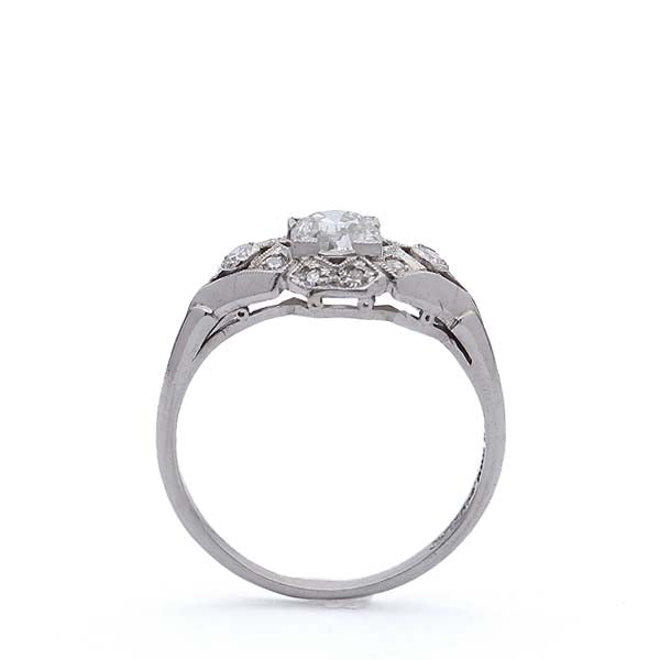 Circa 1930s Engagement ring #VR190215-1 - Leigh Jay & Co.