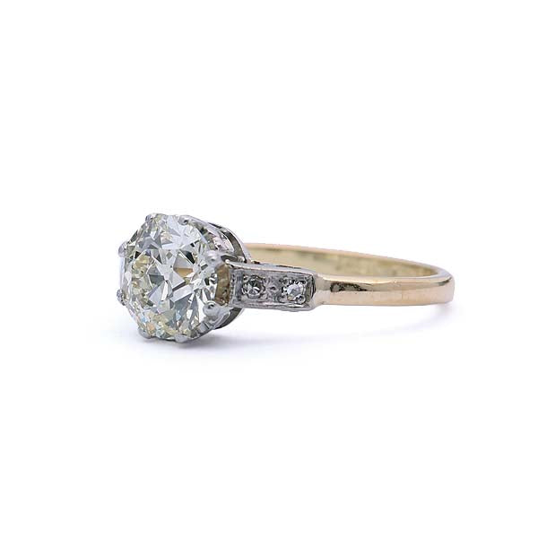 Edwardian Engagement Ring #VR190220-1 - Leigh Jay & Co.