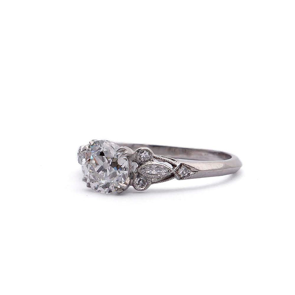 Circa 1930s Engagement Ring #VR190321-1 - Leigh Jay & Co.