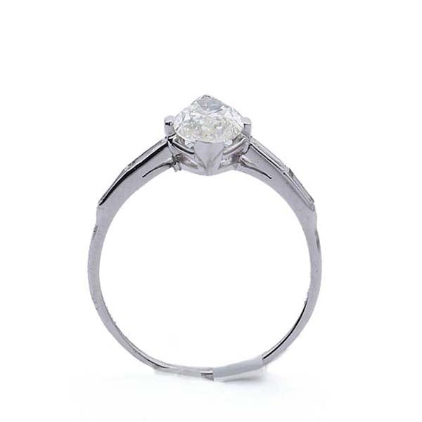 Vintage Marquise Diamond Engagement Ring #VR190419