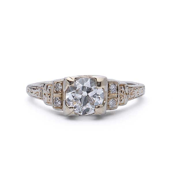 Circa 1920s Engagement Ring #VR190520-1 - Leigh Jay & Co.