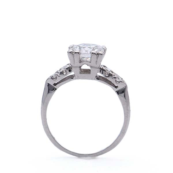 Midcentury Diamond Enagement Ring #VR190521-4