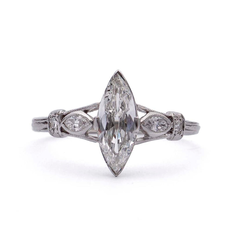 Edwardian 1910s Engagement Ring #VR190610-1 - Leigh Jay & Co.