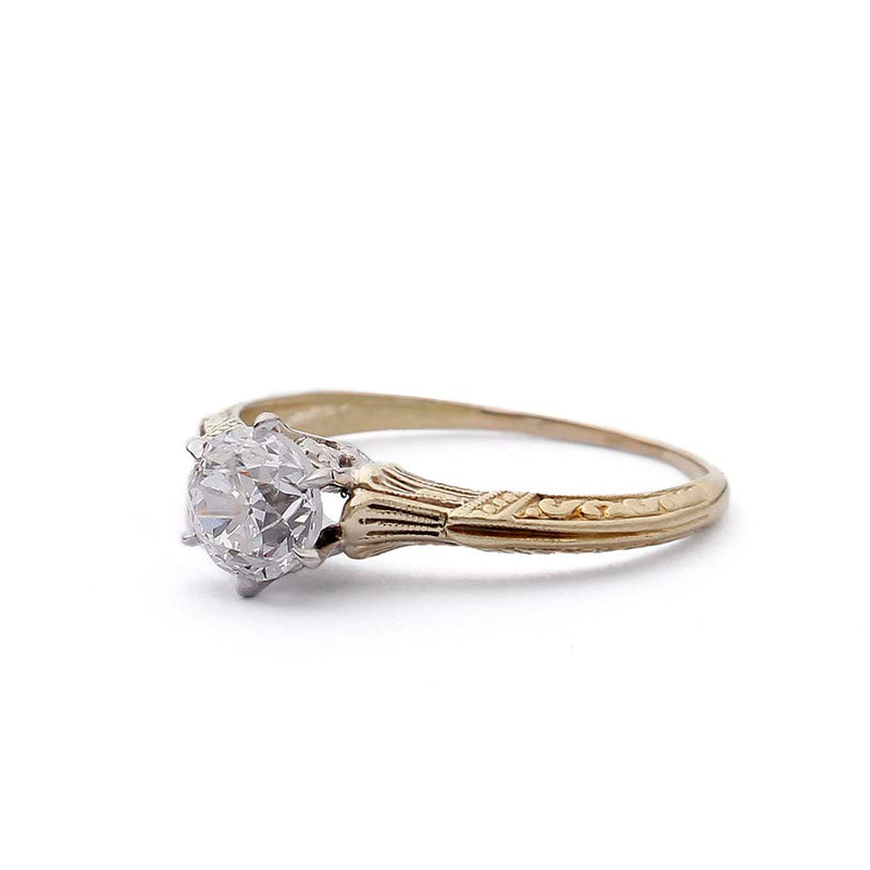 Belle Epoque Engagement Ring #VR190726-2 - Leigh Jay & Co.
