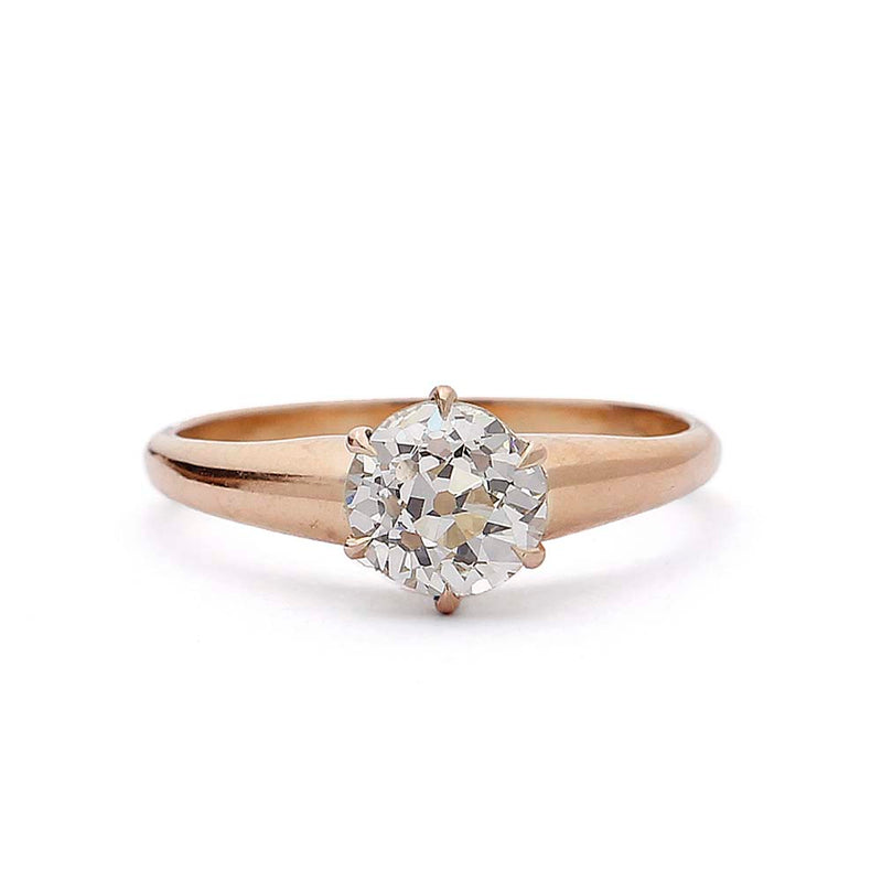 Early 1900s Engagement ring  #VR190917-1 - Leigh Jay & Co.
