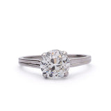 Art Deco Diamond Engagement Ring #VR190917-2 - Leigh Jay & Co.