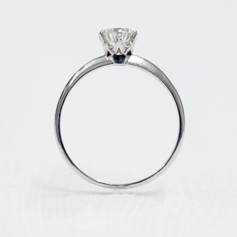 Circa 1960s Tiffany & Co Engagement Ring #VR191218 - Leigh Jay & Co.