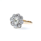 Beautiful Edwardian Halo Ring #VR200622-1