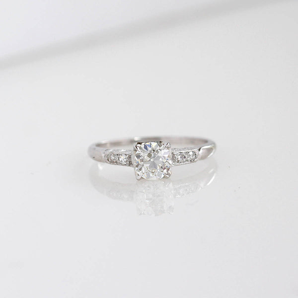 Art Deco 1920s Engagement Ring #VR200723-1 - Leigh Jay & Co.