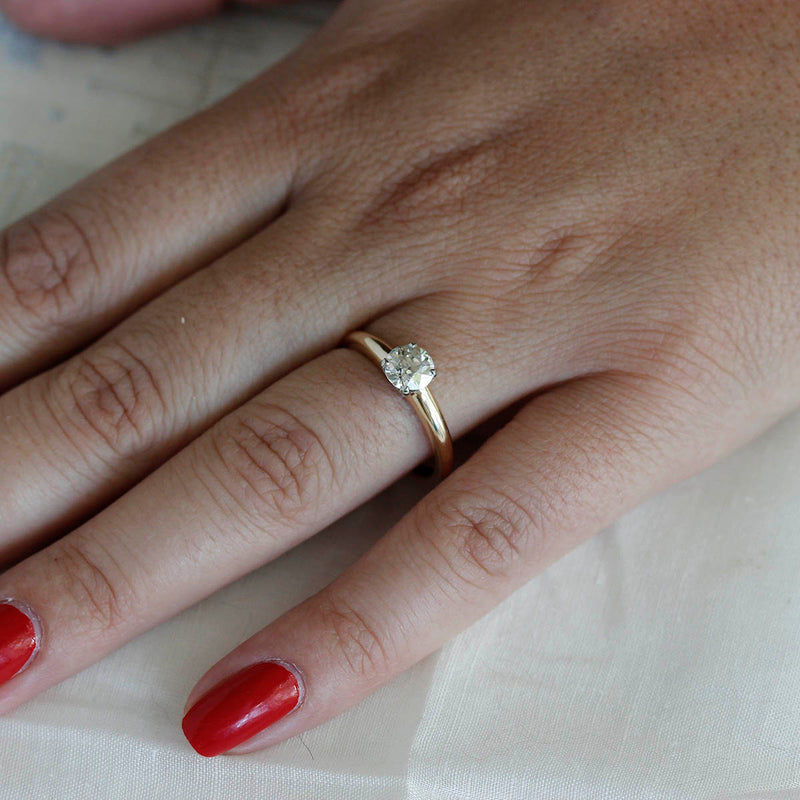 Circa 1940s Engagement Ring #VR200803-1 - Leigh Jay & Co.
