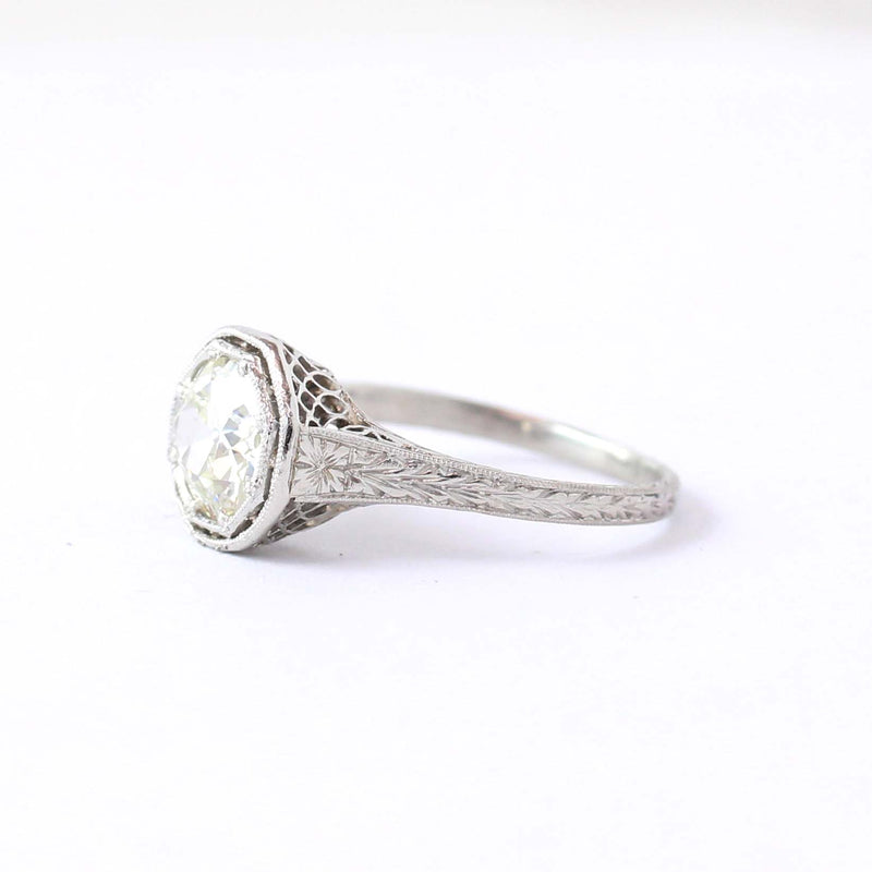 Stunning Edwardian Engagement Ring #VR200818