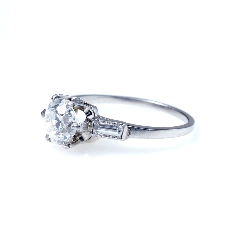 Art Deco Lambert Bros Engagement Ring #VR200914-1