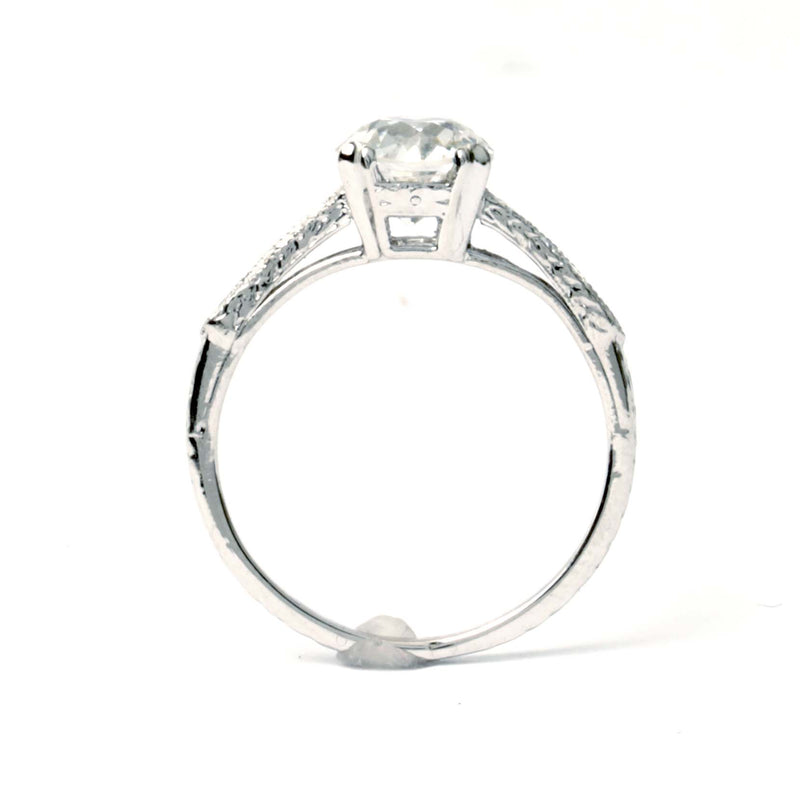 Art Deco Engagement Ring #VR201201-1