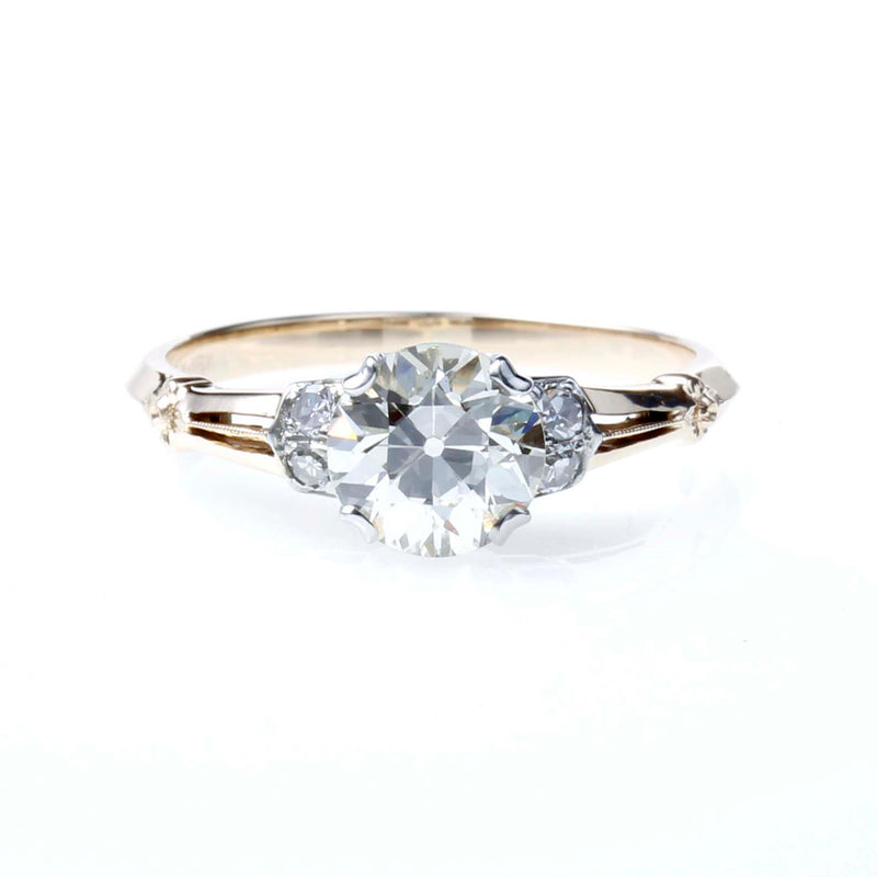 Vintage Retro 1940's  Engagement Ring #VR201203
