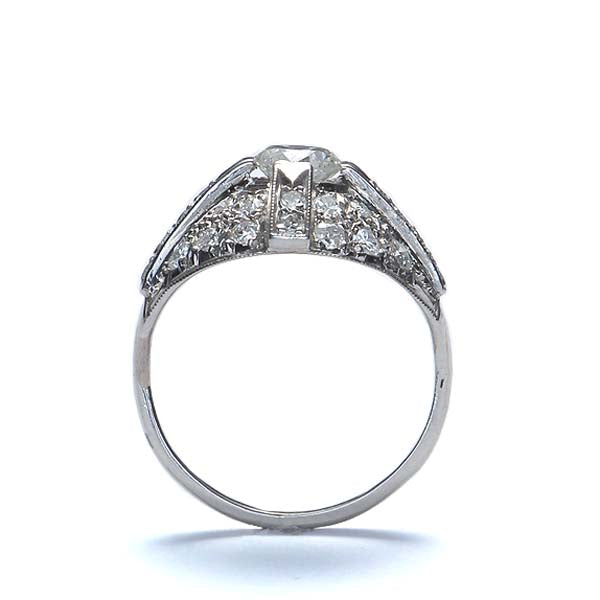 Art Deco Diamond Ring Circa 1918 #VR489-06 - Leigh Jay & Co.