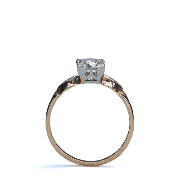 Circa 1940s Diamond Engagement ring #VR503-03 - Leigh Jay & Co.
