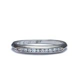 Circa 1939 Diamond wedding band #VR547-07a - Leigh Jay & Co.