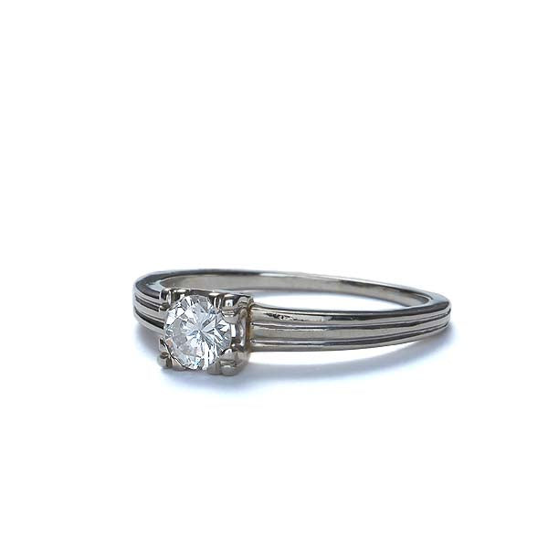 Circa 1950s Diamond engagement ring #VR569-13 - Leigh Jay & Co.