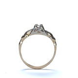 Circa 1930s engagement ring #VR607-04 - Leigh Jay & Co.