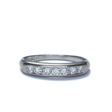 Art Deco Diamond wedding band #VRI1663 - Leigh Jay & Co.
