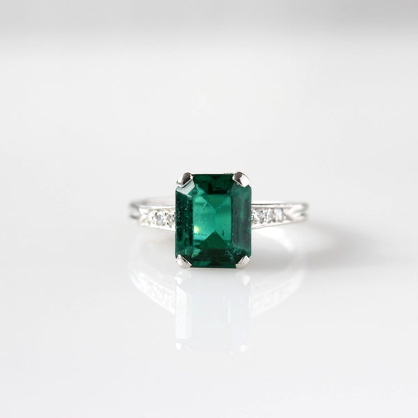 Stunning Art Deco Engagement Ring Setting #R200420