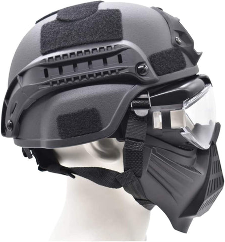Anti Fog Airsoft Full Face Mask & Helmet - TopTacticalGear