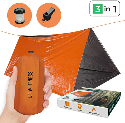 Survival Emergency Tent - TopTacticalGear
