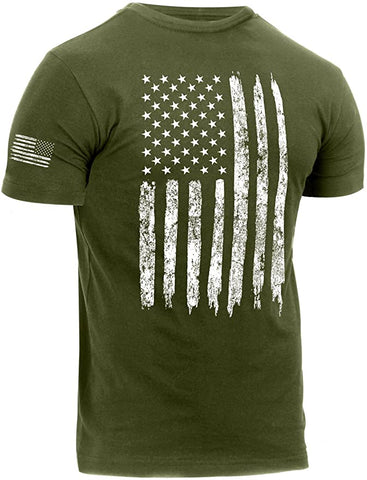 US Flag Athletic Fit T-Shirt - TopTacticalGear