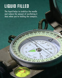 Tactical Survival Compass - TopTacticalGear