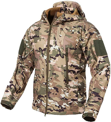 Soft Shell Tactical Camo Jacket - TopTacticalGear